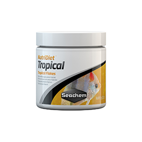 SEACHEM NutriDiet Tropical Flakes 15g Nourriture poissons tropicaux Flocons