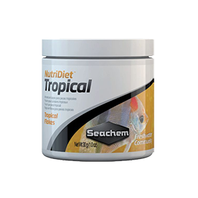 SEACHEM NutriDiet Tropical Flakes 30g Nourriture poissons tropicaux Flocons