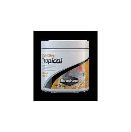 SEACHEM NutriDiet Tropical Flakes 30g Nourriture poissons tropicaux