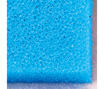 JBL Mousse filtrante bleue maille fine 50 x 50 x 5 cm