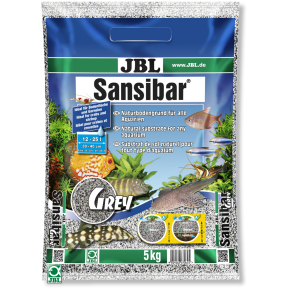 JBL Sansibar GREY 5kg Substrat fin gris pour aquarium