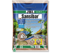 JBL Sansibar RED 5kg Substrat fin rouge pour aquarium