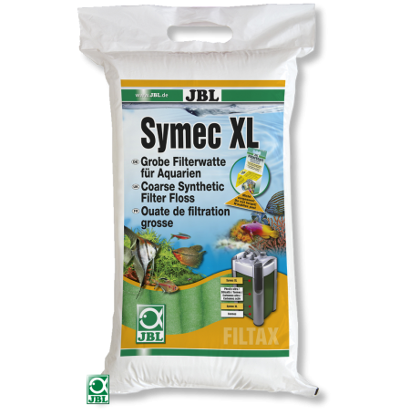 JBL Symec XL Ouate filtrante épaisse verte - 250g