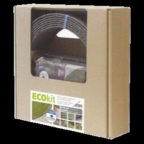 ECO'OH! EcoKit - Bordure de bassin 14 cm x 10 mètres + 14 piquets + vis - Livraison gratuite