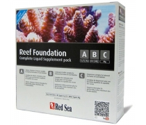 RED SEA Reef Foundation Complet Liquid Supplement Pack ABC