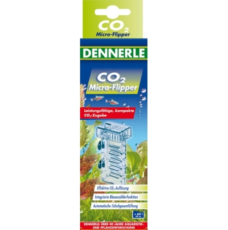 DENNERLE Micro Flipper - Diffuseur à CO2 pour Aquarium jusqu'à 60 L