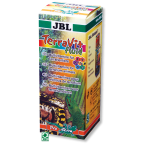 JBL TerraVit fluid 50ml Multivitamines liquides animaux de terrariums