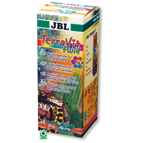 JBL TerraVit fluid, multivitamines liquide - 50ml