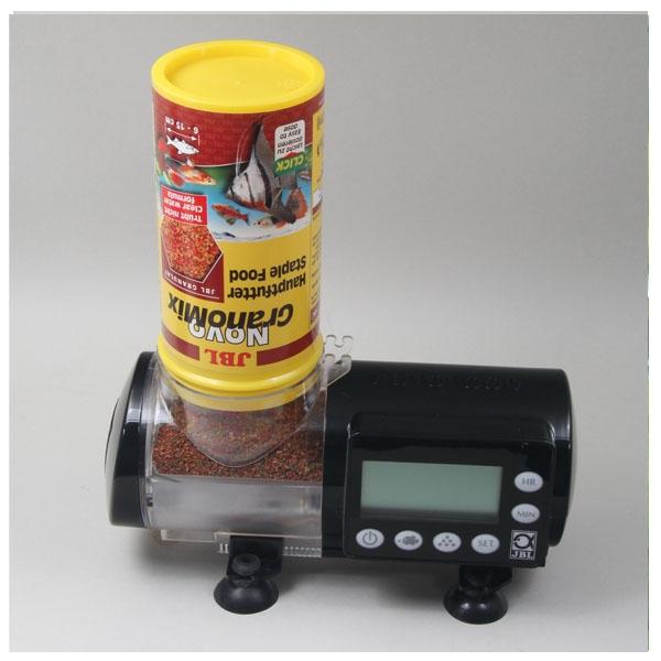 Jbl autofood noir distributeur automatique de nourriture for Distributeur nourriture poisson