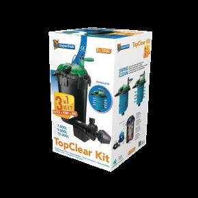 DESTOCKAGE filtre bassin SUPERFISH Top Clear Kit 10000 - Filtre + UV + Pompe