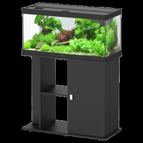Aquarium AQUATLANTIS Style LED 80 + Meuble Noir