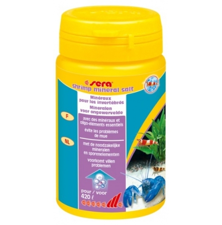 SERA Shrimp Mineral Salt - 105 g