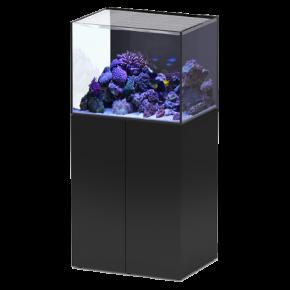 Aquarium AQUATLANTIS Aquaview 65 + Meuble Noir - 163 Litres Eau de Mer - Livraison incluse