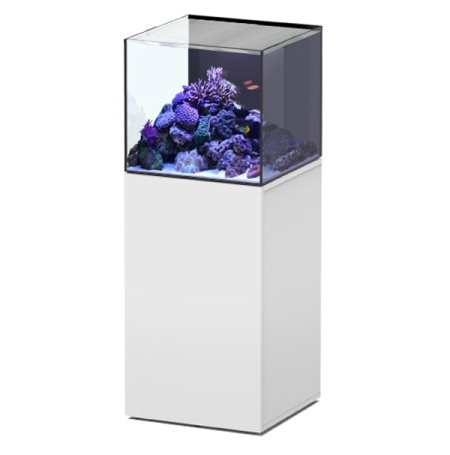 Aquarium AQUATLANTIS Aquaview 50 + Meuble Blanc