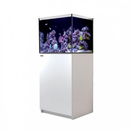 Aquarium RED SEA Reefer 170 + Meuble - Blanc + RED SEA Coral Pro 22 Kilos OFFERT