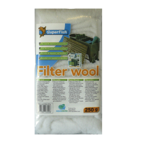 SUPERFISH Filter Wool - Ouate de Filtration - 250g