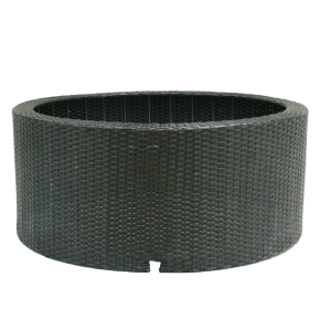 UBBINK Decowall Wicker II - Habillage pour Fontaine - Ø 90 x H. 38 cm - Livraison comprise