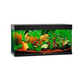 Aquarium Juwel Rio 180 LED SANS Meuble - Noir