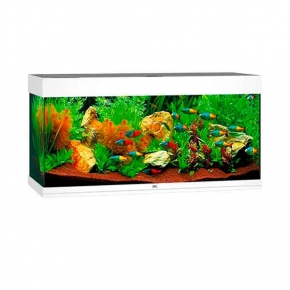 Aquarium Juwel Rio 180 LED + Meuble - Blanc