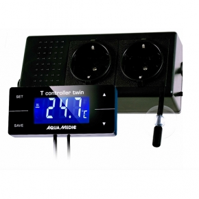 AQUA MEDIC T-Controller Twin - Thermostat Numérique Aquarium