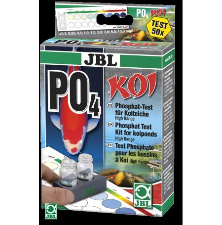 JBL PO4 Test phosphate Koï pour bassin - 50 tests