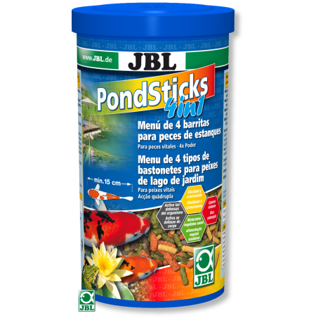JBL Pond Sticks 4 in1 - 1l (160g)