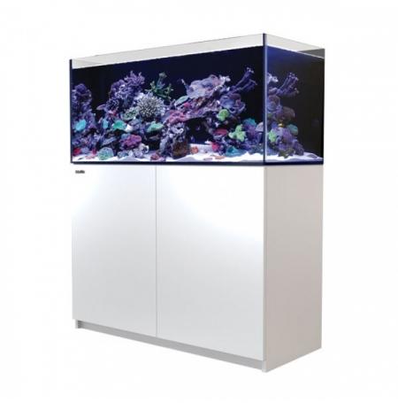Aquarium RED SEA Reefer 350 + Meuble - Blanc + RED SEA Coral Pro 22 Kilos OFFERT
