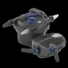 OASE FiltoClear Set 3000 - Filtre + UV + Pompe pour Bassin jusqu'à 3000 L