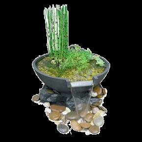 SUPERFISH Mini Waterfall Pond - Kit complet mini-bassin