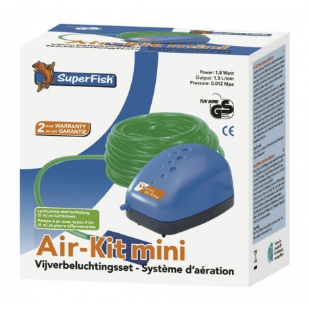 SUPERFISH Air-Kit Mini - Kit Aération Bassin - 78 L/H