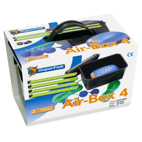 SUPERFISH Air-Box 4 - Kit Aération Bassin - 600 L/H