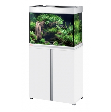 Aquarium EHEIM Proxima Plus 175 + meuble - Blanc