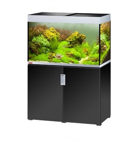 Aquarium EHEIM Incpiria 300 + meuble - Argent et Noir