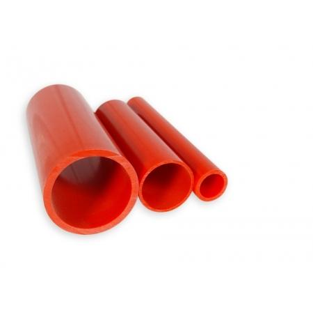 Tube PVC Rouge Ø40mm - au mètre