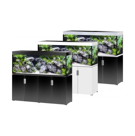 Aquarium EHEIM Incpiria 500 + meuble - Argent et Noir