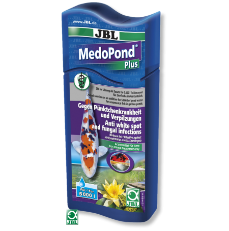 JBL MedoPond Plus 250ml - Anti points blancs Anti parasites