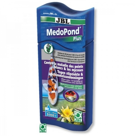 JBL MedoPond Plus 500ml - Anti points blancs Anti parasites