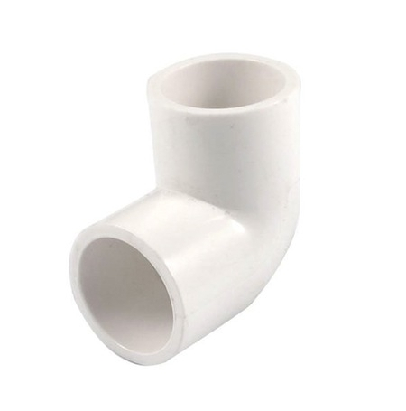 Coude PVC 90° Ø50mm ROYAL EXCLUSIV - Blanc