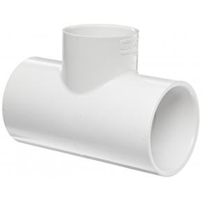 T PVC Ø20mm - Blanc
