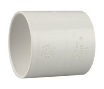 Manchon PVC Ø20mm - Blanc