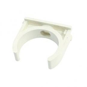 Clip PVC Ø16mm - Blanc
