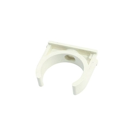 Clip PVC Ø25mm ROYAL EXCLUSIV - Blanc