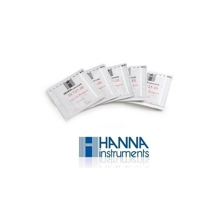HANNA Reactifs Mini-photomètre Calcium - 25 sachets