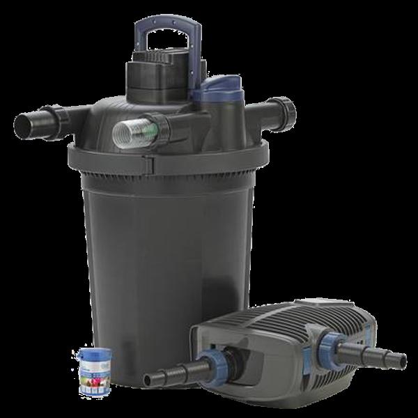 Oase filtoclear set 16000 filtre pour bassin for Filtre uv bassin