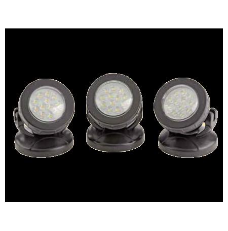 PONTEC PondoStar LED Set 3 - 3 Spots pour bassin