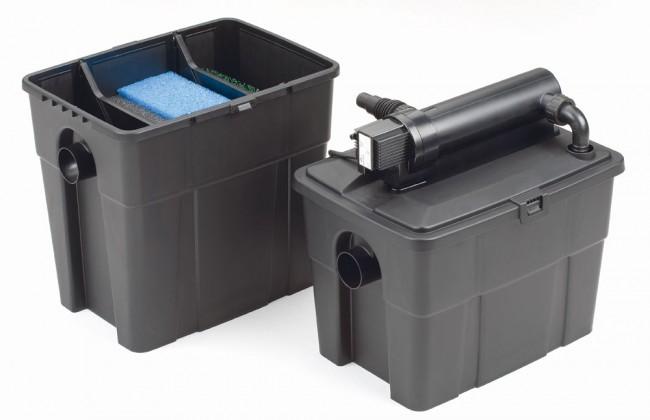 Filtre pour bassin pontec multiclear set 8000 for Pompe bassin filtre