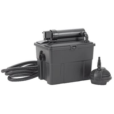 Pontec multiclear sets 8000 filtre uv pompe bassin for Filtre uv pour bassin exterieur