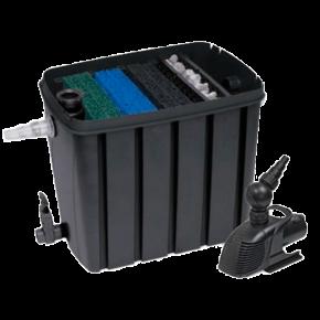 SUPERFISH FlowClear Kit 10000 - Filtre + UV + Pompe pour Bassin jusqu'à 10000 L