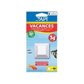 API Vacances Bloc nourriture 14 jours