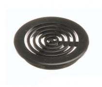 Grille Ronde Diametre 32 mm - Noire